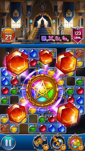 Jewel Royal Castle: Match3 puzzle apkpoly screenshots 4