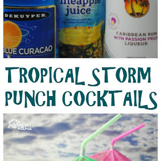 Tropical Storm Punch Cocktails.
