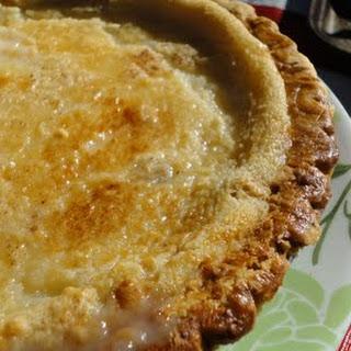 Hoosier Sugar Cream Pie.