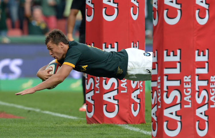 Handre Pollard, in action for the Springboks. Picture: GALLO IMAGES