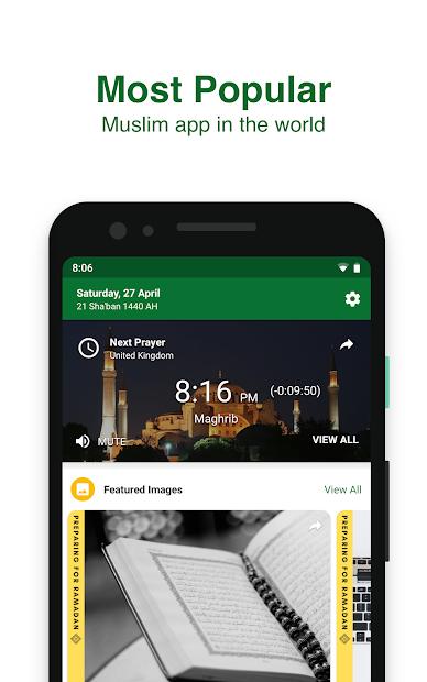 Muslim Pro - Prayer Times, Azan, Quran & Qibla Android App Screenshot