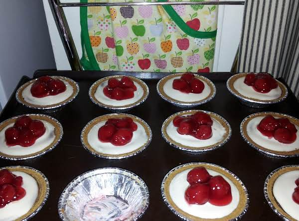 Chocolate Cherry Cheese Tarts Recipe