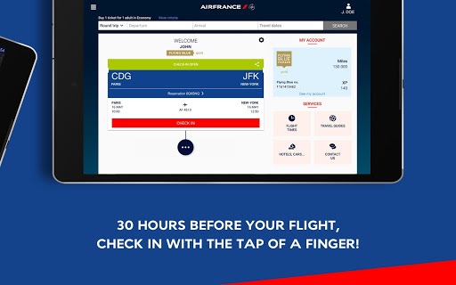 Air France - Airline tickets - screenshot