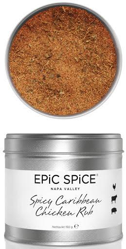 Spicy Caribbean Chicken Rub – Epic Spice