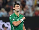 Novak Djokovic en Dominic Thiem plaatsen zich voor derde ronde op Australian Open