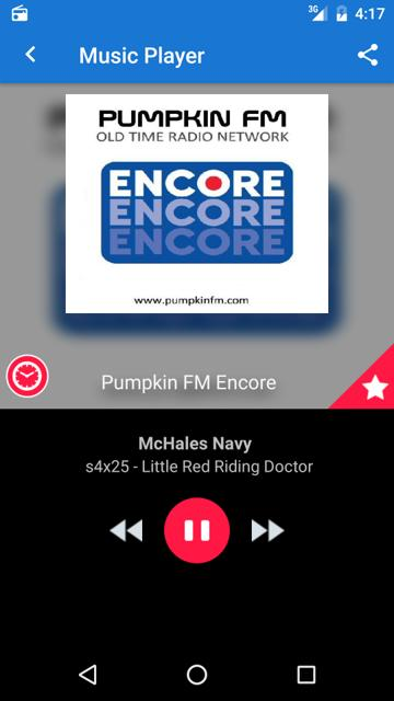 Pumpkin FM - Old Time Radio Network- screenshot