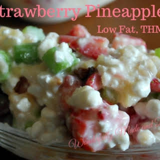 Strawberry Pineapple Salad.