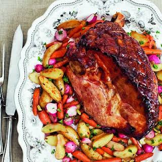 Spiced Glazed Ham.