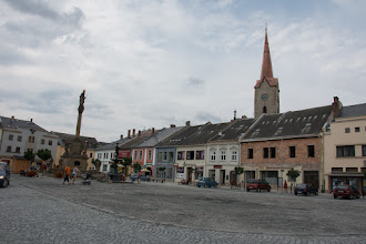 Photo: Rynek w Mohelnicach.
