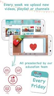 Kids safe video player: YT kids videos & cartoons Screenshot