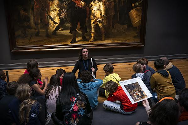 Visita al museo di Simone De Barba