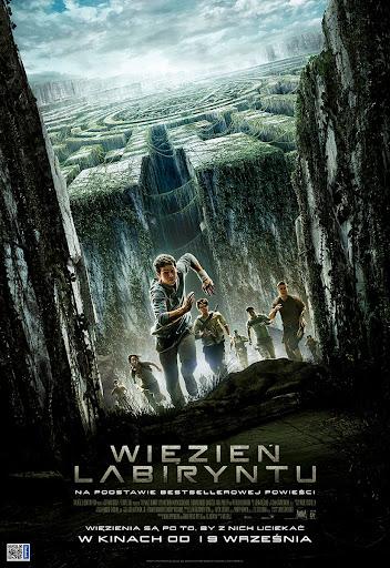 Polski plakat filmu 'Więzień Labiryntu'