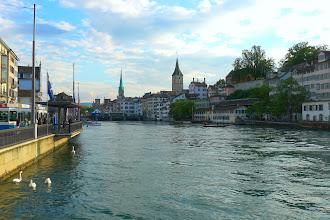 Photo: Zurich, Limmat river