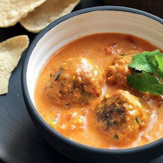 Lamb Kofta Meatballs In Curry Sauce