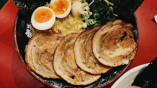 日本人也愛的台北拉麵 ,橫濱家系大和家拉麵
