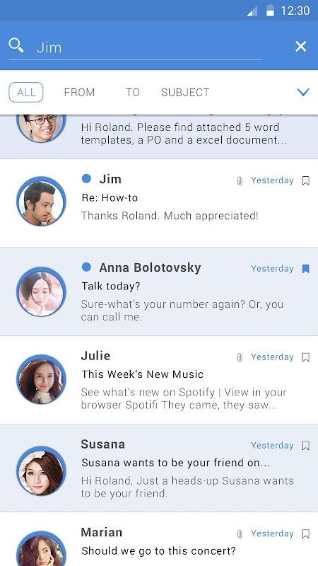 Email Pro screenshots