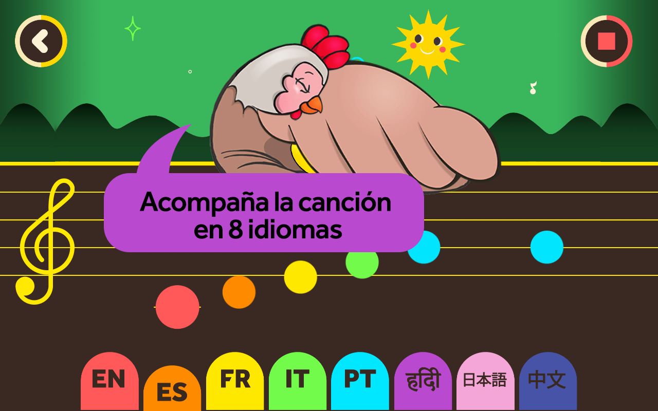Little Chickies (Los Pollitos)- screenshot