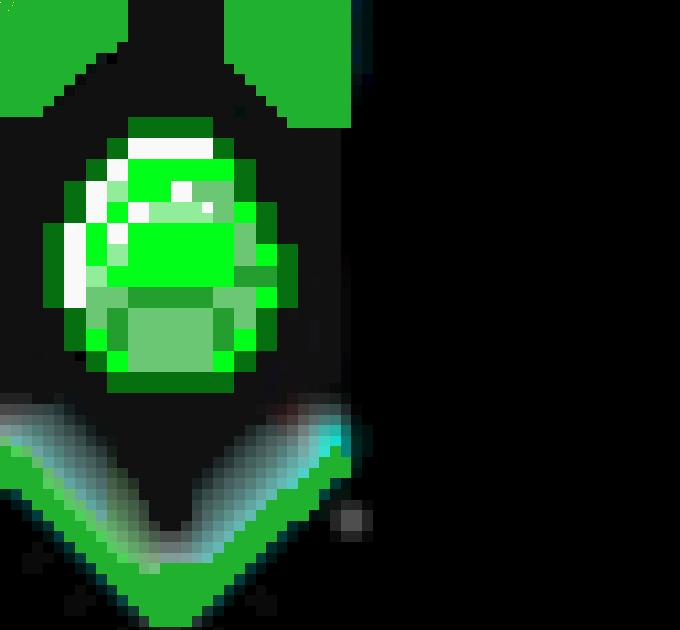 Minecraft Cape Heart - Ceria Bulat t