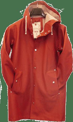 Regnrock, Regnjacka Majorna, röd