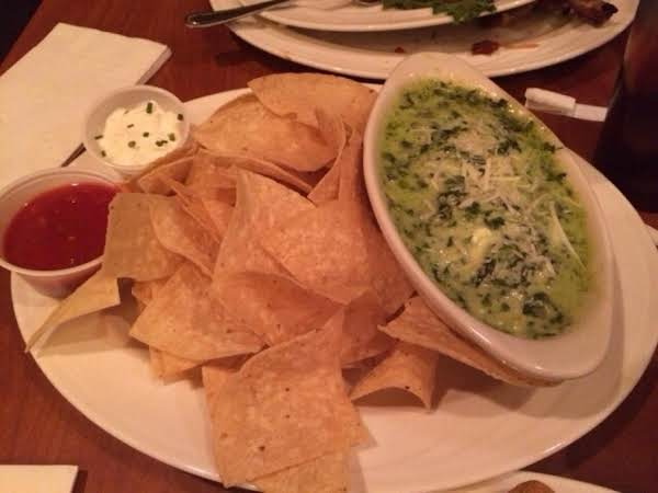 I Had This Spinach Dip Several Times When We Visited Orlando And Totally Loved It. So You Can Imagine How Pleased I Am To Find The Recipe For It In The Orlando Sentinal. As An Alternative And To Zing It Up A Bit I Like To Add Fresh Chopped Chilli!