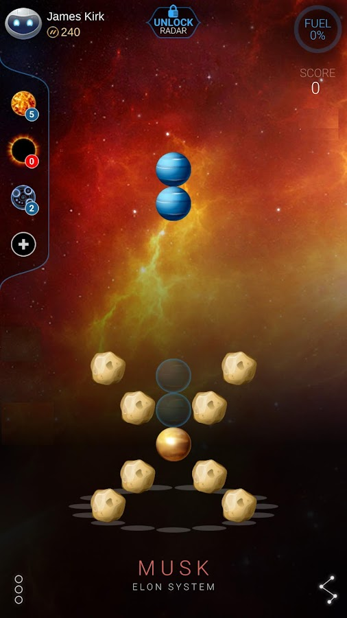 Collapsar: 3D falling blocks- screenshot