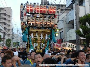 Photo: 【平成23年(2011) 本宮】  本年は「がんばろう日本」の提灯を掲げ、震災復興を祈念しました。