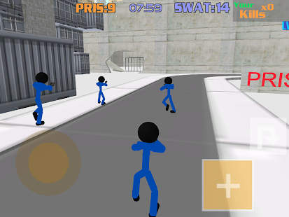 Stickman Prison: Counter Assault Screenshot