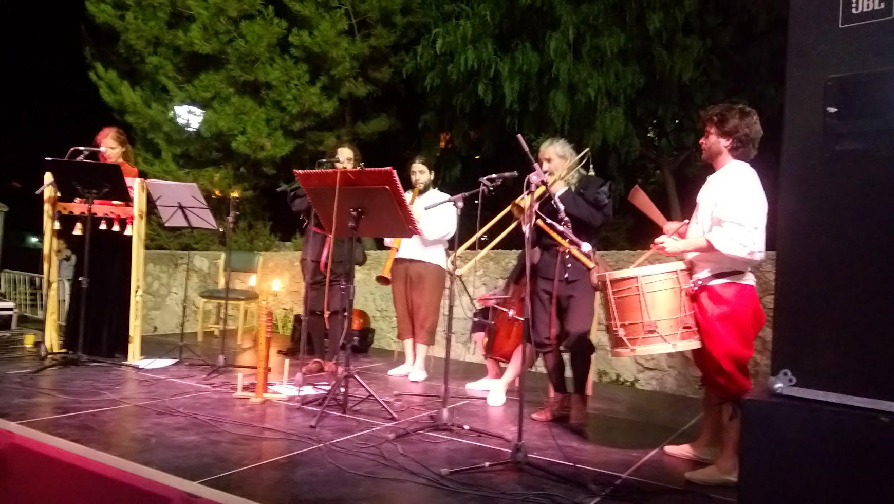 música barroca en Vélez Blanco 2017