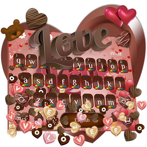 Love Chocolate Gravity Keyboard Theme🍫