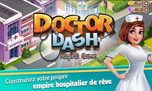 Docteur Dash: Jeu de l'hôpital  captures d'écran 1