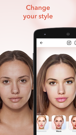 FaceApp Apps (APK) gratis downloade til Android/PC/Windows screenshot