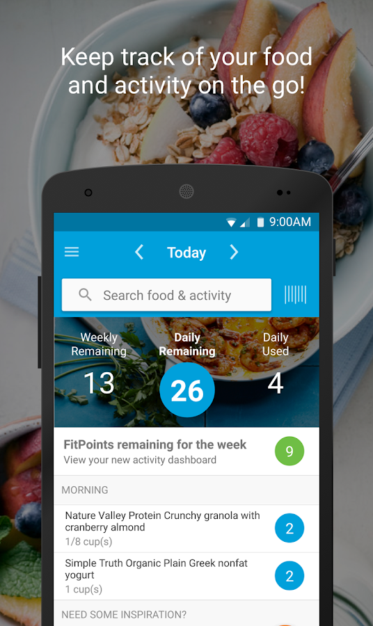 Weight Watchers Mobile- screenshot