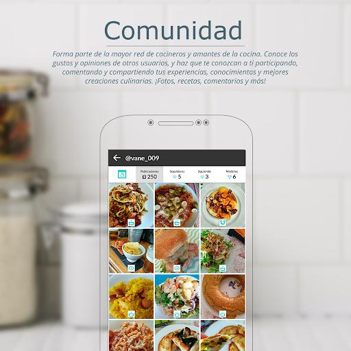 Recetas de cocina gratis u2013 Tu comunidad de cocina  screenshots 3