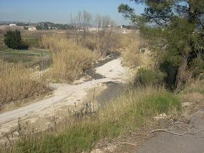 Photo: El Passet sobre el Riu d'Albaida, vist des de la Riba Alta.
