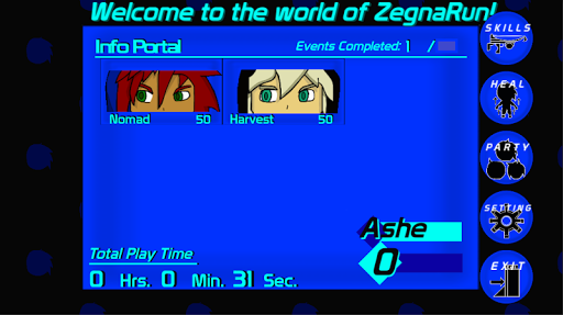 ZegnaRun Version 1.0
