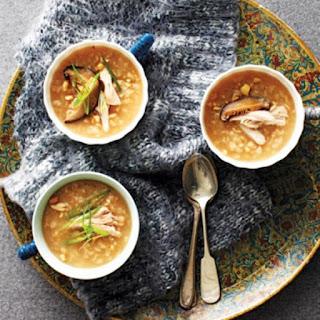 Comforting Chicken Congee.