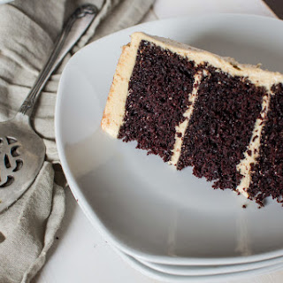Chocolate Cake w/ Cookie Butter Frosting