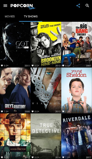 Popcorn Time - Free Movies & TV Shows 2.0 screenshots 2