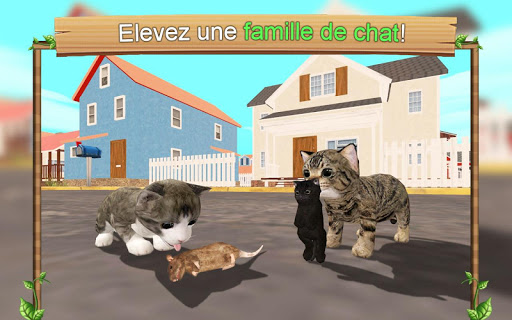 Code Triche Simulateur de chat en ligne APK Mod screenshots 1