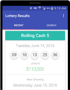 Www Lottery Results