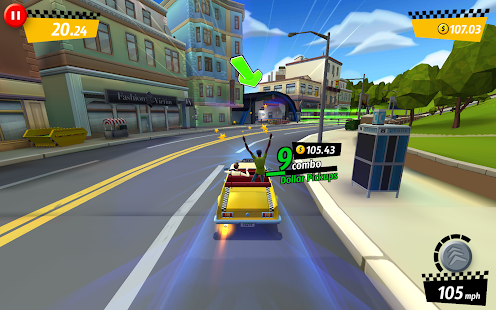 Crazy Taxi™ City Rush Screenshot