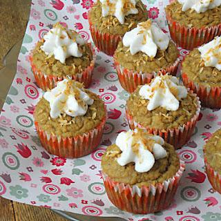Dairy Free Sugar-Free Coconut Cream Cupcakes Recipe