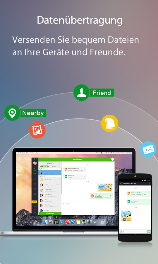 AirDroid - Android on Computer – Screenshot