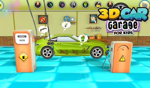 3d car garage for kids screenshot thumbnail