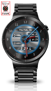 Metal Glow HD Watch Face- screenshot thumbnail