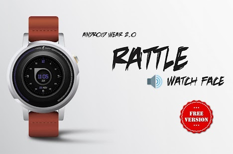 Watch Face - Rattle Interactive - náhled