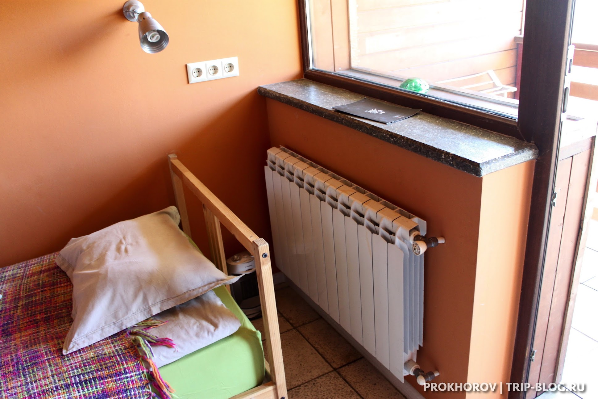 Отопление в отель Tsar Bani