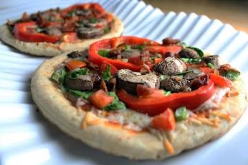 Farmer's Market Style Personal Pizza Recipe