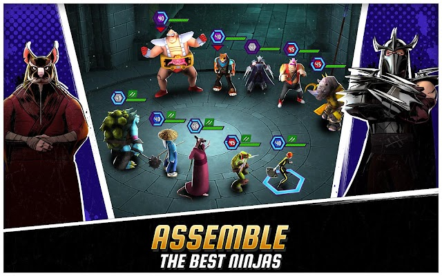 Ninja Turtles: Legends Screenshot Image