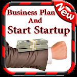 Business Plan & Start Startups Icon